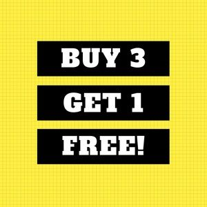 Bundle Sale - Buy 3 and Get 1 Free!